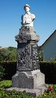 Le monument aux morts d'Authuille