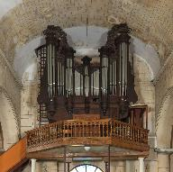 Buffet du grand orgue, de style rocaille