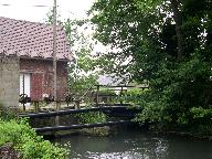 Le pont du moulin.