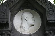 Relief : portrait d'Edmond Duthoit