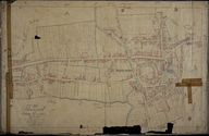 Plan cadastral, section A2 par Fauvel et Mercher, 1834 (AD Somme ; 3P1619/3).