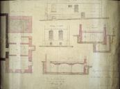 Plans par Victor et Paul Delefortrie, 21 mai 1875 (arch. privées).